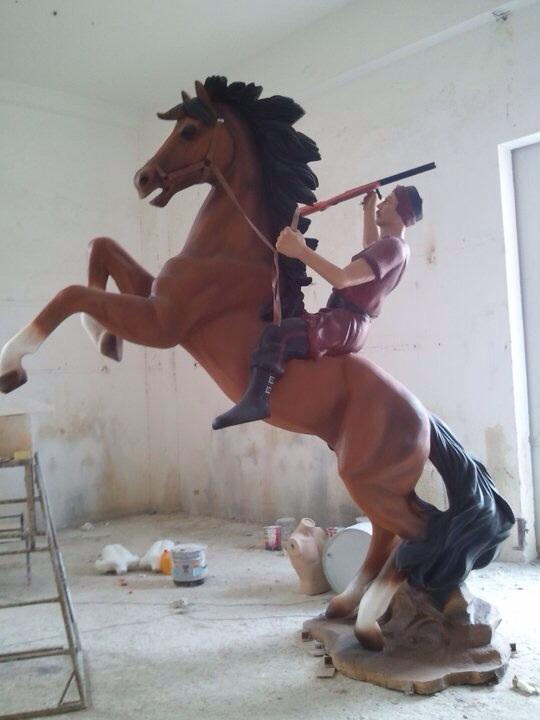 Cheval et son cavalier