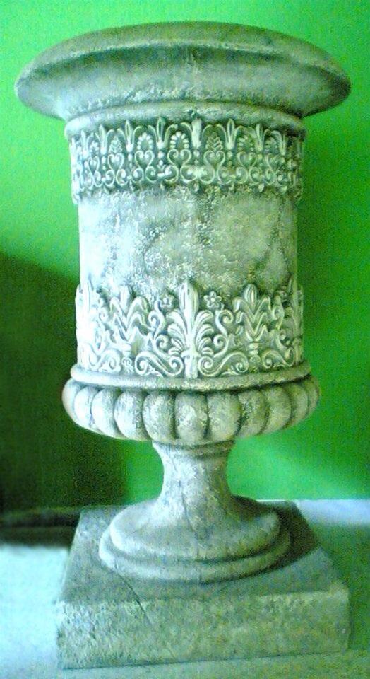 Vase fausse pierre