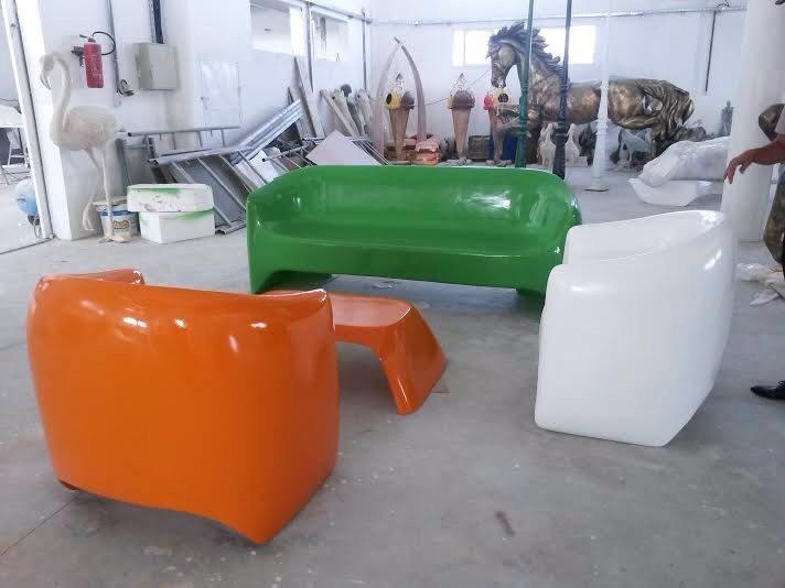 Banquette  et fauteuil Design