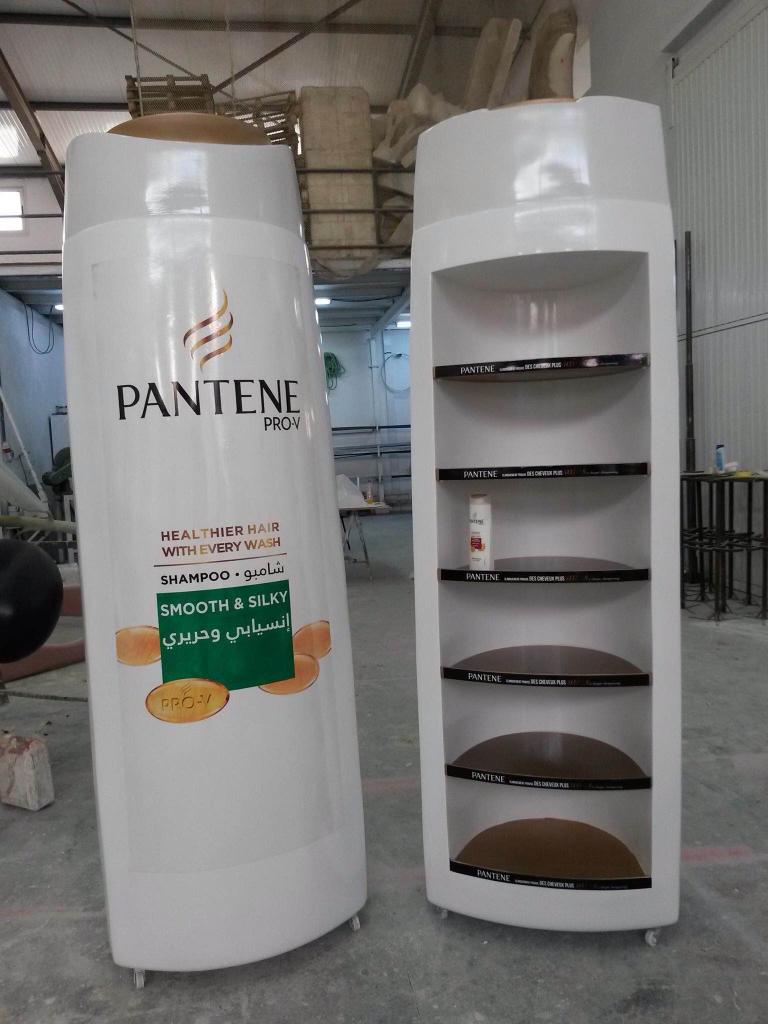 Exhibition Stand Water Features : Displays présentoirs