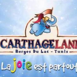 CARTHAGELAND(2 parcs, Hammamet et Tunis Les Berges du Lac).