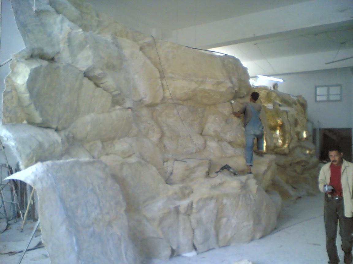 Mur de roches