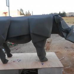Rhino style Origami